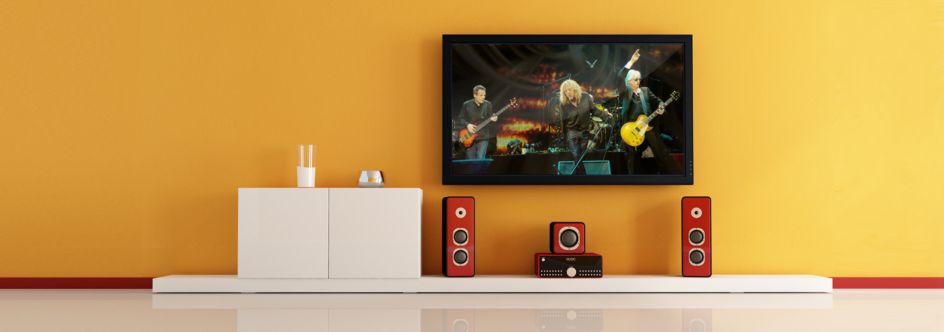 Complete control of your entertainment systems