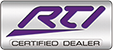 RTI Certified Dealer logo